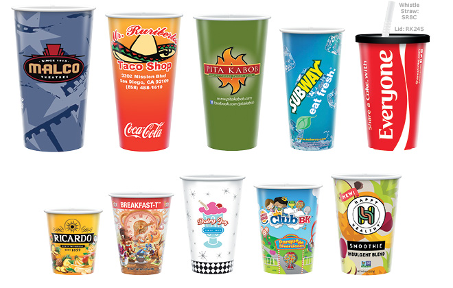 Recycled Paper COLD Cups