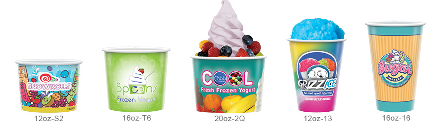 Ice Cream Container Branding